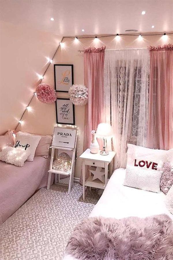 girly pink black bedroom group 5918