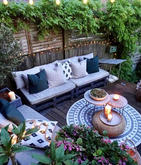bohemian-outdoor-living-space-with-garden-decorating ... on My Garden Outdoor Living id=43471