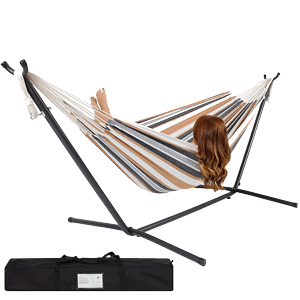 Best-Choice-Products-Double-Hammock-With-Space-Saving-Steel-Stand-Includes-Portable-Carrying-Case