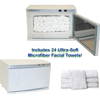High-Capacity-Hot-Towel-&-UV-Sterilizer-Cabinet-