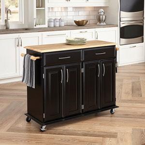Home-Styles-4528-95-Dolly-Madison-Kitchen-Cart-Black-Finish