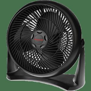 Honeywell HT-908 Turbo Force Room Air Circulator Fan, Black, 15 Inch