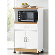Microwave-Cart-Stand---White-Finish