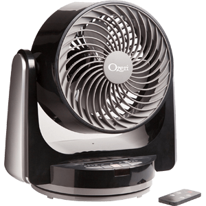 "Ozeri Brezza III Dual Oscillating 10"" High Velocity Desk and Table Fan"
