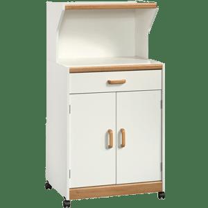 Sauder-Universal-Oven-Cart-White
