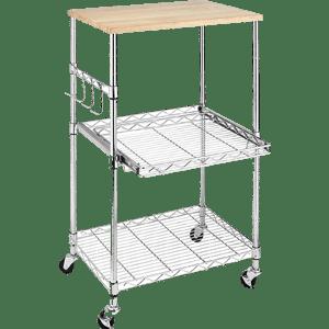 Whitmor-Supreme-Microwave-Cart-Wood-&-Chrome-F