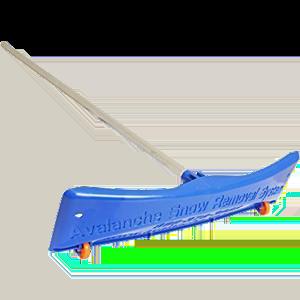 SnowRake-Deluxe-20-ft.-Aluminum-Handle-Roof-Rake-with-Wide-Rake-and-Wheels