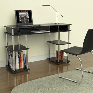 Convenience-Concepts-Modern-No-Tools-Student-Desk,-Black