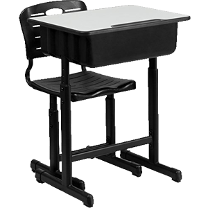 Flash-Furniture-Adjustable-Height-Student-Desk-and-Chair-with-Black-Pedestal-Frame