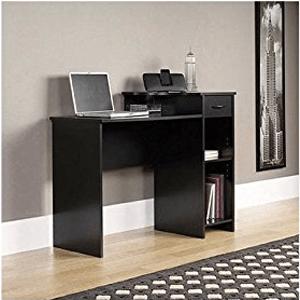 Mainstays-Student-Desk,-Black