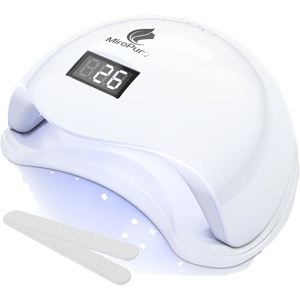 MiroPure 36W UV LED Nail Lamp with 4 Timer