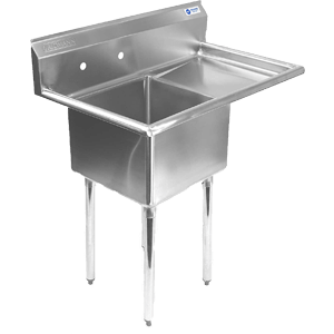 Gridmann-1-Compartment-NSF-Stainless-Steel-Commercial-Kitchen-Prep
