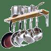 Cooks-Standard-Wall-Mounted-Wooden-Pot-Rack