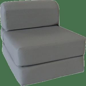 Gray-Sleeper-Chair-Folding-Foam-Bed-Sized