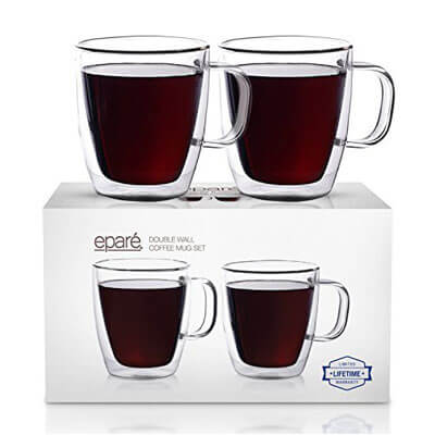 Eparé Insulated Coffee Cups Set