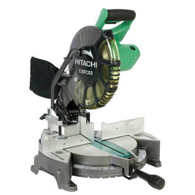 Hitachi C10FCE2 15-Amp 10-inch Single Bevel