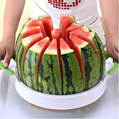 "Watermelon Slicer 15.7"" for home watermelon Slicer Cutter"