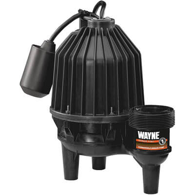 WAYNE SEL50 ½ HP Thermoplastic Sewage Pump
