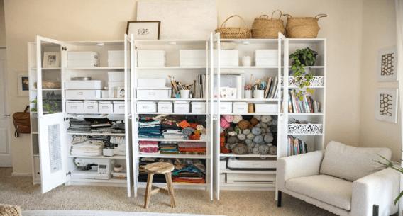Create storage areas