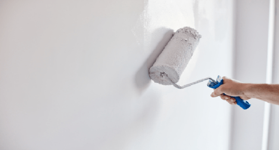 Paint the house walls white