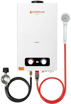 Camplux 2.64 GPM Tankless Propane Water Heater