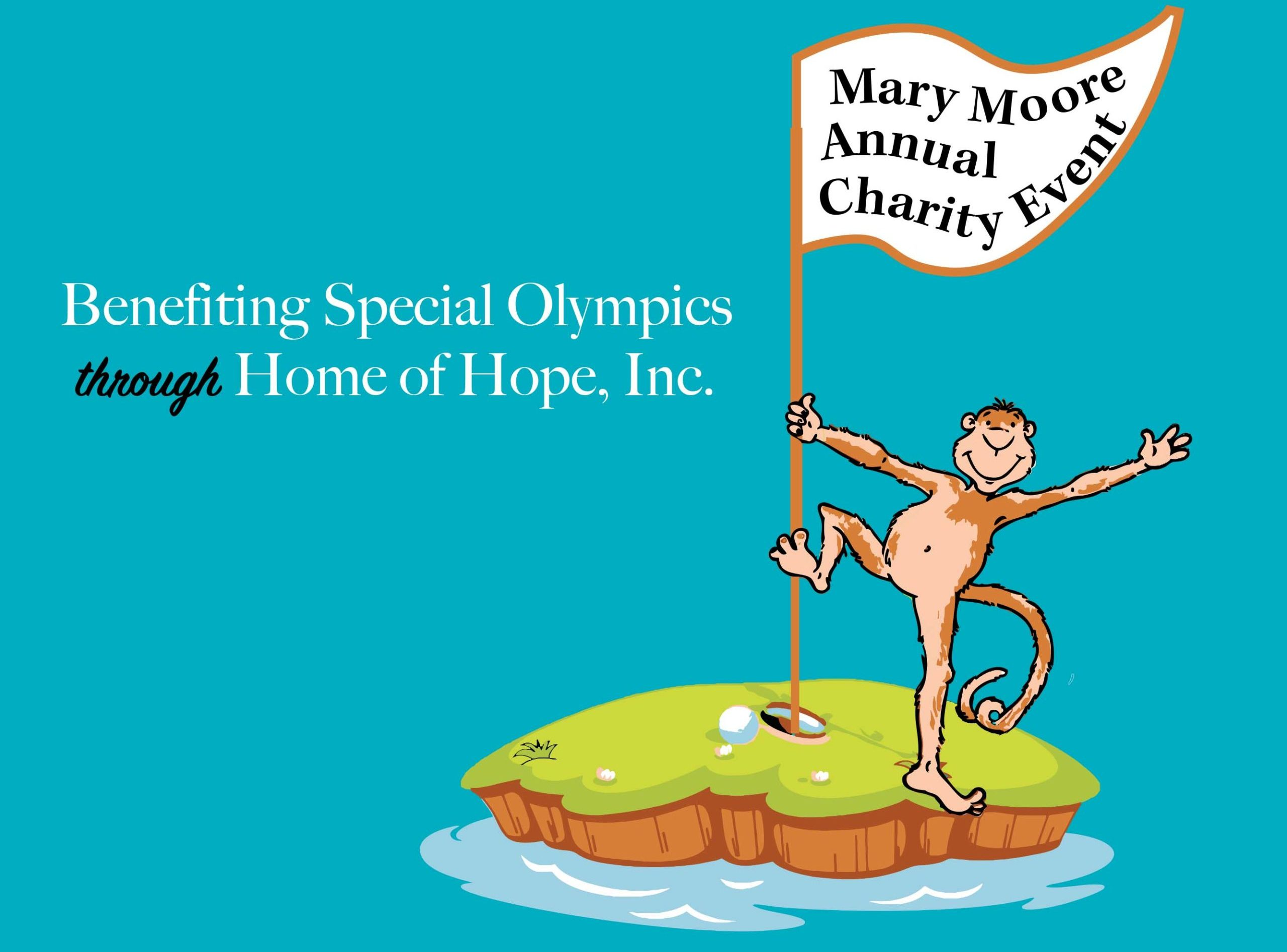 Mary Moore Charity Event Special Olympics Monkey Island