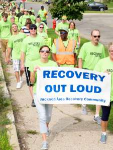 Jackson Recovery walk and Rally