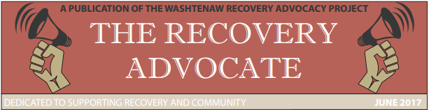 The Recovery Advocate Newsletter Image
