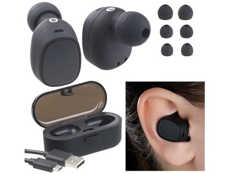 auvisio True Wireless In-Ear-Stereo-Headset