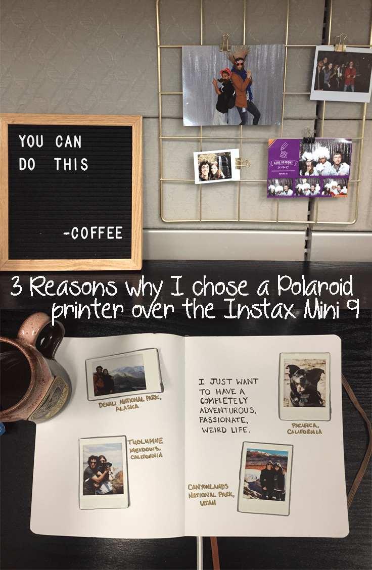 3 Reasons why I chose a Polaroid printer over the Instax Mini 9