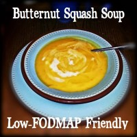 Carrot and Butternut Squash Soup IBS Friendly!