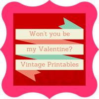 Happy Valentine's Day with Printables