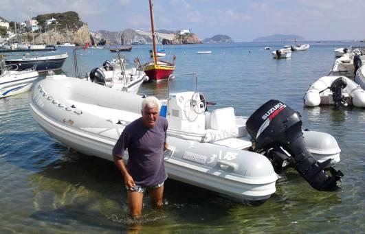 Bootverleih auf Ponza