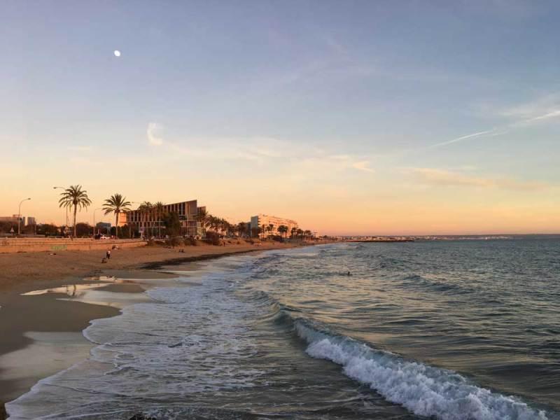 Stand von Palma de Mallorca
