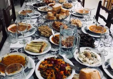 Georgisches-Essen