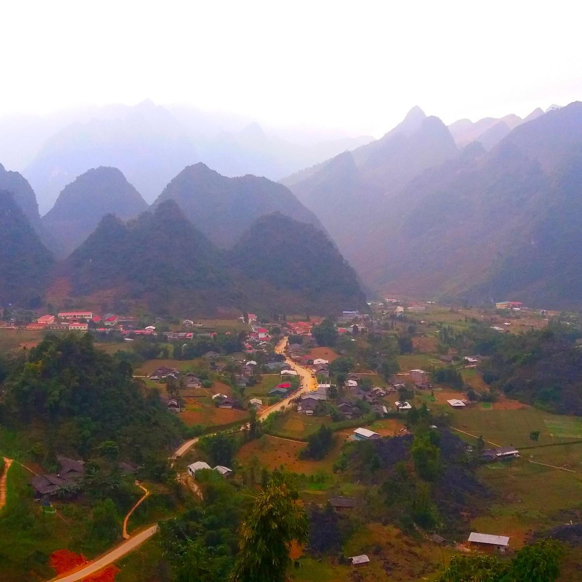 Aussicht Ha Giang Loop