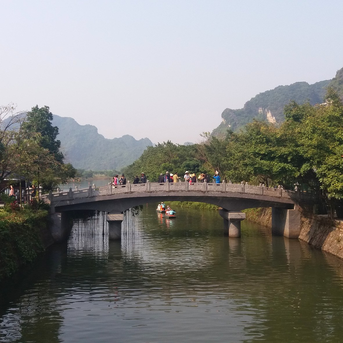 Brücke Trang An