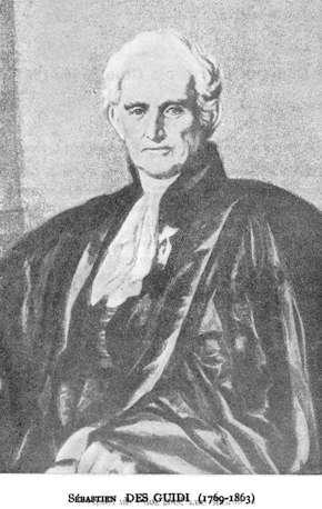 Docteur Comte Sébastien DES GUIDI (1769-1863)