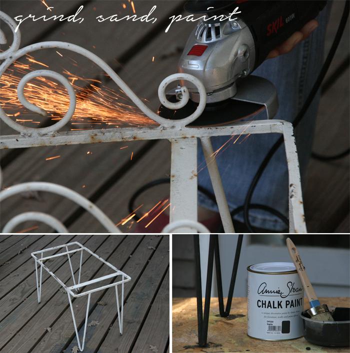 grind sand paint