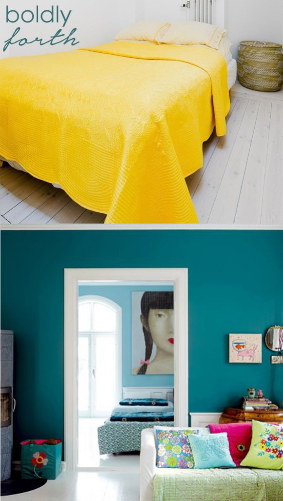 colour in a small room boldly forth