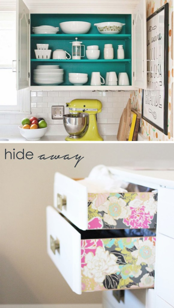 colour in a small room hide away