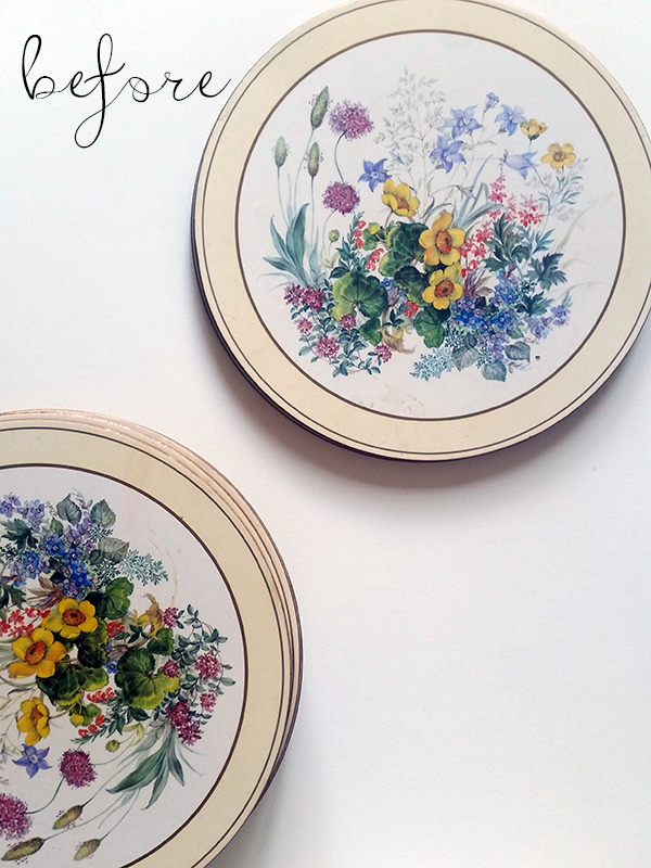 charger plate upcycle
