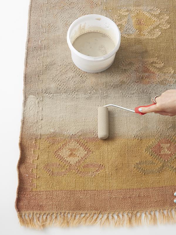 DIY painted carpet