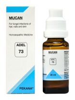 ADEL 73 MUCAN homeopathic medicine for fungal infection of nail, hair and skin