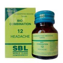 SBL Bio-Combination No 12 for Headache
