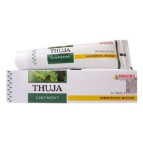Bakson Thuja Skin Ointment for Warts, Corns, Polypi, Tubercles