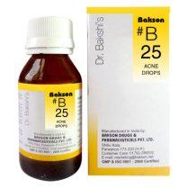 Dr.Bakshi B25 Acne Drops for Pimples, Blackheads, Whiteheads, Eczema