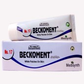 Medisynth Beckoment Cream No.17 for white patches on skin