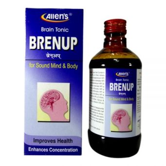 Allens Brenup Brain Tonic for adults and children, enhances concentration,