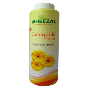 Wheezal Calendula Nectar Powder for Prickly Heat Treatment, Talcum powder for dhobi itch